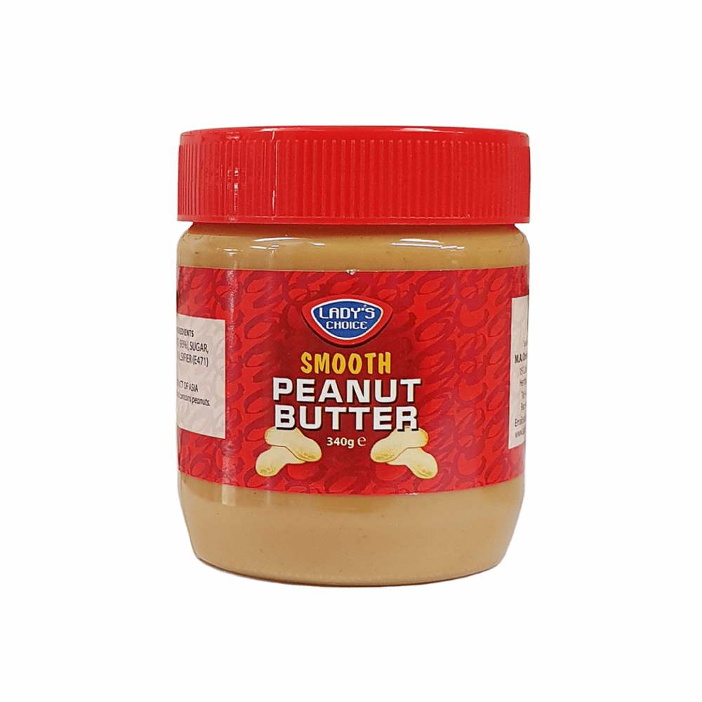 Lady's Choice Smooth Peanut Butter 340g
